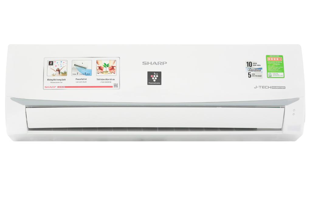 Máy lạnh SHARP 1.5 HP AH-XP13WMW Inverter R32 - model 2019